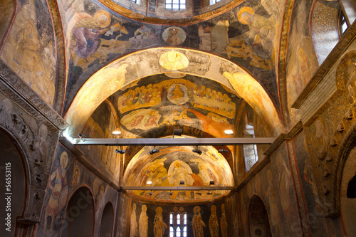 Chora Church in Istanbul, Turkey