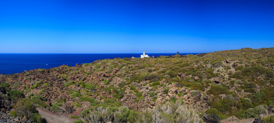 Lighthouse in Pantelleria