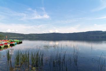 Laacher See, Rhineland-Palatinate, Germany, Europe