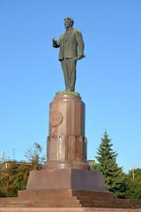 Kaliningrad. Monument to M.I.Kalinin (1875-1946)