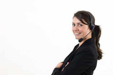 Female customer service