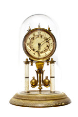 Period Clock With Oscillating Mechanism