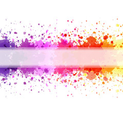 Color Blot Background