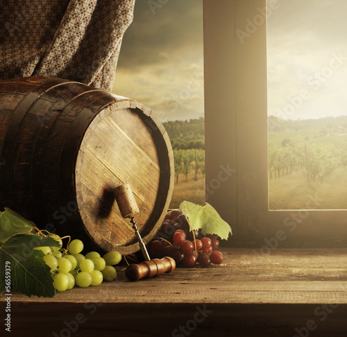 Wine barrel © stokkete