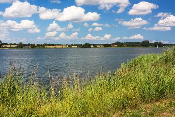 Ufer der Schlei bei Sieseby in Schleswig-Holstein