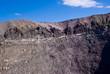 Crater of Vesuvius Volcano, Naples, Italy