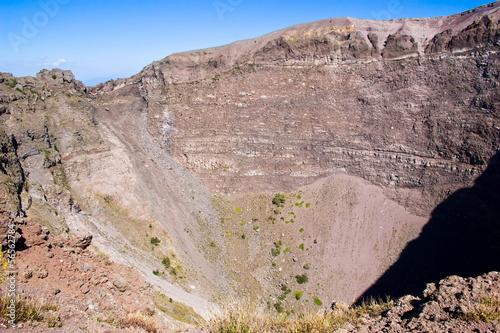 Crater of Vesuvius Volcano, Napoli, Italy