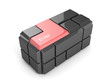 Red Keyboard Cube