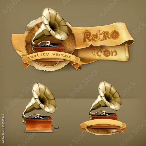 Gramophone, icon