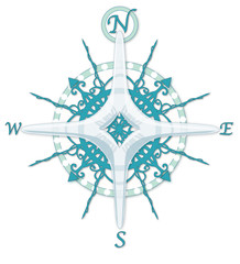 Frozen Compass Rose