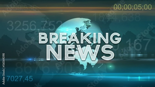 Breaking News Motion Graphic