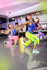 aerobics girls