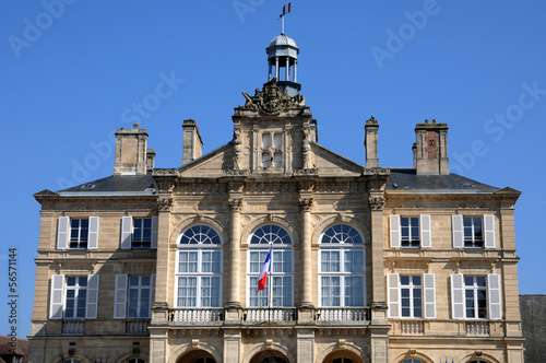 city hall of Sees in Normandie