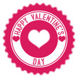 Valentine's Day. Stamp