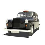 Fototapety London Cab Isoalted