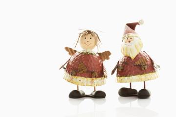 Christkind und Weihnachtsmann