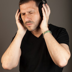 Listenint to music with pleasure