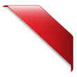Red RIBBON (band website button icon label)