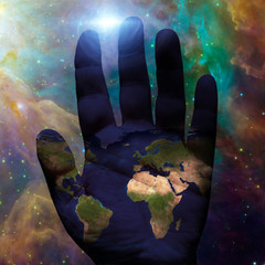 Earth hand galactic