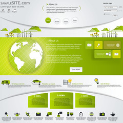Eco Business website Design Template