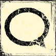 Grunge comments icon