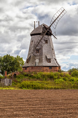 Old windmill in the countryside