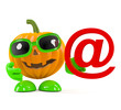 Pumpkin has email