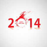 New year 2014 design