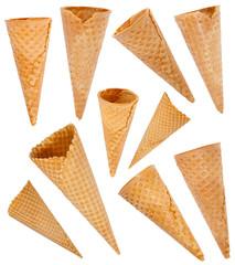 Ice cream cones set