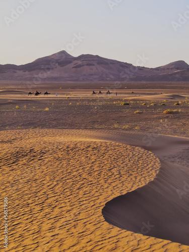 Poster Zagora Desert, Morocco