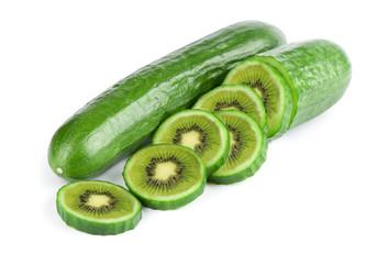 GDO genetiği değiştirilmiş salatalık kivi