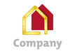 Yardstick and house company logo
