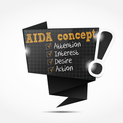 bulle origami : aida concept (in English)