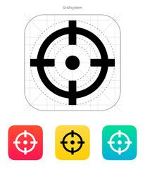 Crosshair icon.