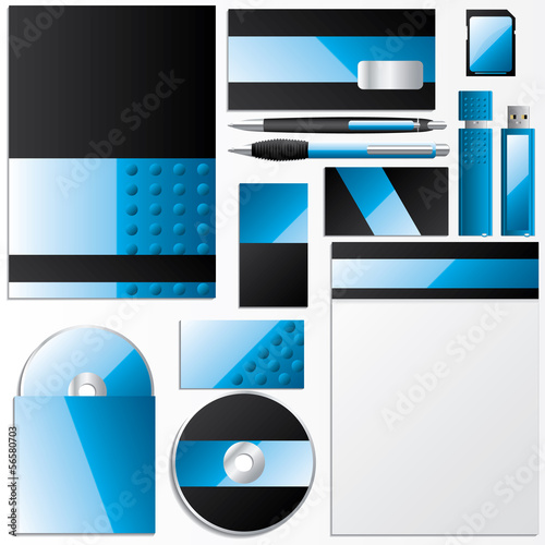 Editable business design set