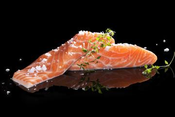 Delicious salmon.