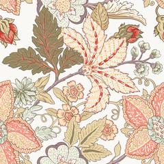 Vintage flower pattern