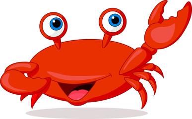 Cute crab cartoon