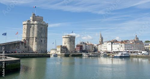 Foto Spatwand Poort port de La Rochelle
