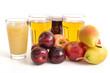Fruchtsäfte und Obst