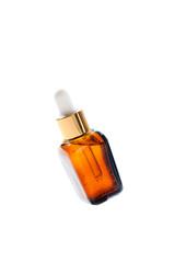 cosmetic oil brown bottle