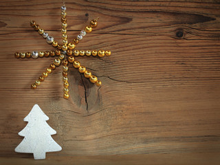 Weihnachtsbaum und Stern