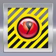 Alarm schwarz gelb rot 9