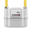 Leinwanddruck Bild - Natural gas meter