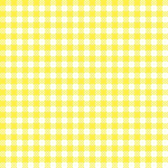 Bayrisches Rauten-Muster Weiß-Gelb
