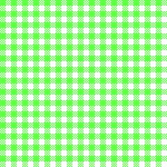Bayrisches Rauten-Muster Weiß-Grün