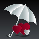 Hearts-under-umbrella