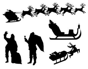 santa claus merry chiristmas