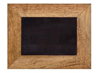 leere Kreidetafel, Rahmen ohne Aufhängung