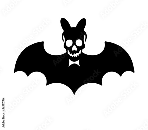 Halloween sign shape and icon